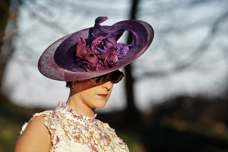 Purple Dreams, Designer Millinery from the Lake District - Tracy Wells
